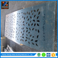 Professional Maker Aluminum Alloy Decorative Perforated Metal Sheet
