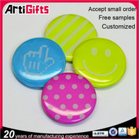 Wholesale cheap metal blank button badges