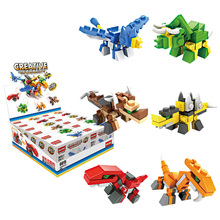 HSANHE Kids Soft Construction Plastic toy 6 In 1 building blocks For Boys
