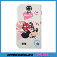 adorable Mickey Mouse case for samsung galaxy s4 LOGO custom