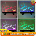 2016 ali-express high quality new innovation LED display for shops advertising mini led writing board factory direct