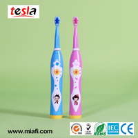 Tesla MAF8600M Waterproof Children musical electric vibrator toothbrush with USB charging
