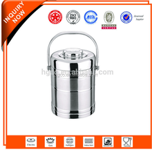 Stainless Steel Stright Body thermo insulation tiffin pot