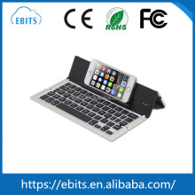 Hot selling mini ultra-thin wireless bluetooth universal foldable keyboard