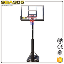 removable training basketball hoop stand with EN71 sale around world