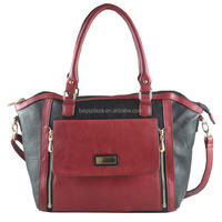 2015 new product handbag on sale leather handbag women bags tote bag with a separable pocket CC41-144