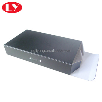 Classical Style Black Paper Sunglass Box Packaging