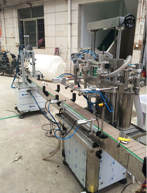 liquid filling machines for industrial shower gel packing production line