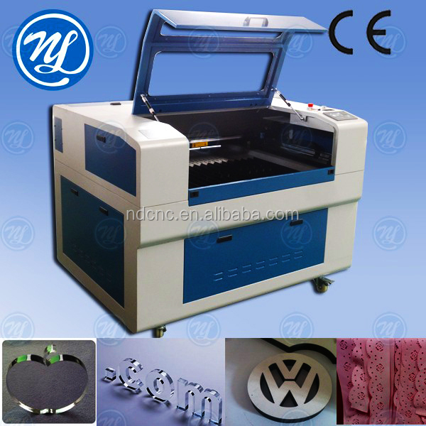 Rubber stamp flash machine equipment/ laser engraving and cutting machine NDJ6090