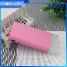 Factory best cell phone 7800mah external battery charger power bank with LED light
