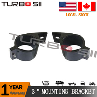 Local Delivery ! One Pair Bull Bar Mounts Bracket Clamps Kit For LED Work Light Bar 3 inch LED mounting bracket