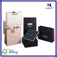 Luxury Paper gift bag package , custom design paper shopping bags,BOLSA DE PAPEL