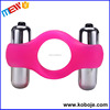 Twin Vibrating Cock Ring Best Sexual Enhancer Plastic male penis sleeve