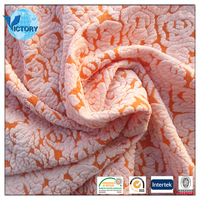Wholesale 94% Polyester 6% Spandex Coarser Knitting Yarn Dye Jacquard Fabric