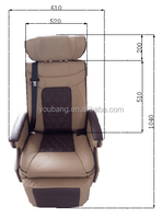 After-sales Service Provided luxury auto seats with new style