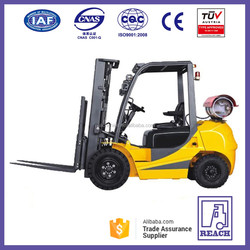 New Imported Nissan K21 Motor Powered 1.5 ton LPG Forklift truck Price