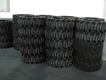 solid skidsteer tires 10-16.5 12-16.5