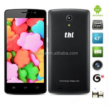 New Arrival THL 4000 mobile phone 4.7 inch MTK6582 1.3Ghz 1GB/8GB Quad Core 5.0mp 4000mAh phone