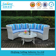 Best Price Big Size Round Table Heavy Wicker Outdoor Furniture