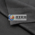 Black color for over coating wool fabric