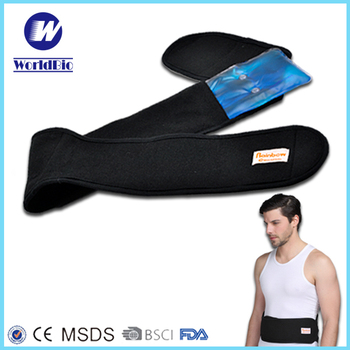 Instant gel heating pack for waist and belly