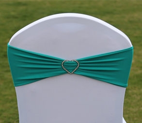 wedding chair sash buckle