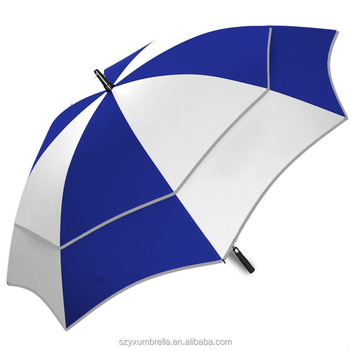 High quality Wholesale Golf size customised umbrella with edge