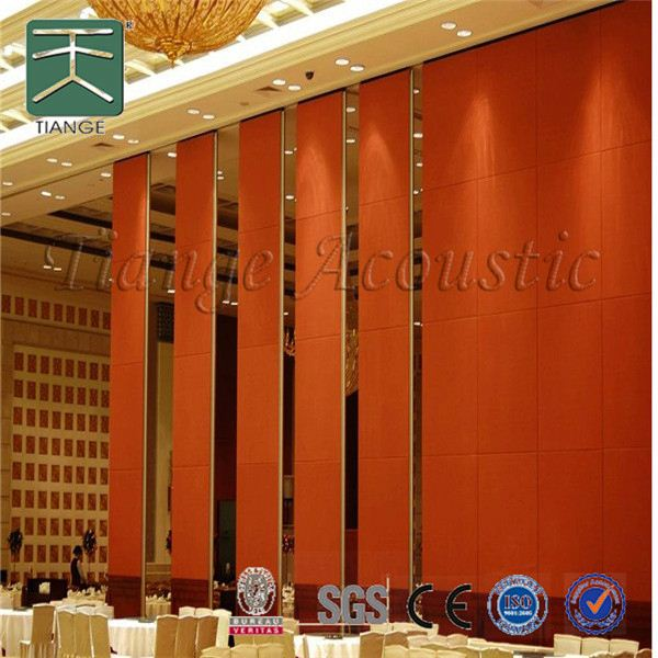 sound proof partition board materials acoustic movable partition for banquet hall