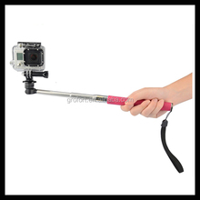 Handheld Monopod for Gopro Pole For Go Pro Hero3 with Tripod Mount/Pole For Go Pro