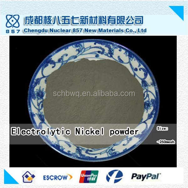 China factory outlet electrolytic nickel metal powder for plating