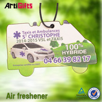 High quality absorbent scented hanging paper air freshener