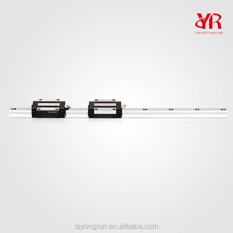 Linear guide rail with low noise and smooth operation Linear Guide TRH20B