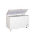 250L Open Top Single Door Ice Cream Vegetable Meat Seafood Folding Door Deep Chest Freezer