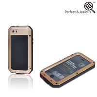 ODM Strong toughness pc + pu material waterproof phone case