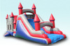 3 in 1 Rocket Ship Inflatable Castle Combo