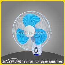 "Best selling 16"" commercial wall fan/oscillating wall fan/standard wall fan"