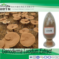 Free sample Reishi Mushroom Extract/Ganoderma japonicum P.E /Lucid Ganoderma extract