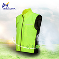 OEM service custom reflective safety LED motor biker vest cycle clothing