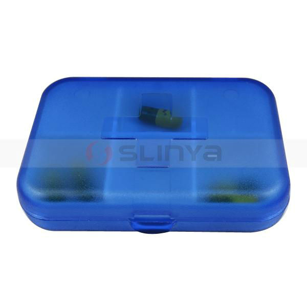 Wholesale Pill Box Supplier Pill Box For Travel Promotional Item