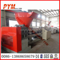 Whole line waste plastic film recycling machine