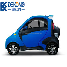 EU approved electric car/vehicle with New EEC certificate powerful mini electric car