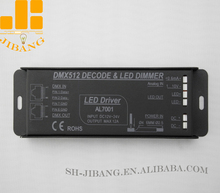 Multifunctional LED Controller 1 Channel Max 10A DMX dimmer and 0-10V dimming driver