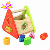 Cheapest wooden kids wisdom box toy,Hot sale children play game wooden toy wisdom box,Wholesale wooden wisdom box W11G006