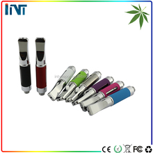 bright colored glass cbd e cig oil cartridges vape pen tank for e cigarette