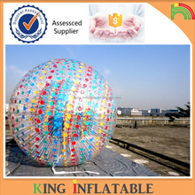 Guangzhou Pefect PVC Or TPU Inflatable Zorb Ball With Repair Kits For Rental Business