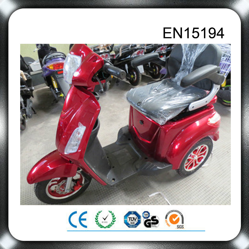 2015 direct factory supply 48v 500w electric tricycle for disabled
