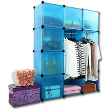 clothes shoes bags plastic diy storage cube cabinet