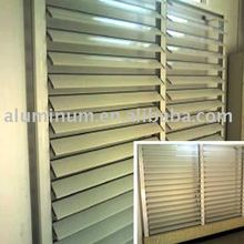 Window shutter Aluminium shutters ,manual louvers aluminium rolling shutters