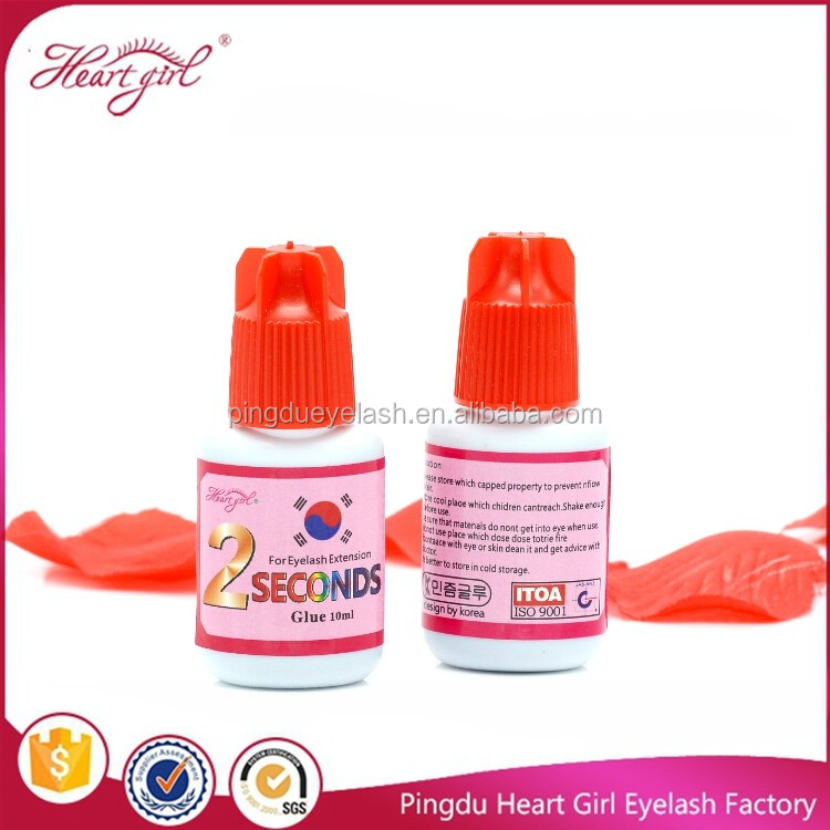 Korea material no irritation 2S quick drying eyelash extension glue