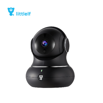 Littlelf Indoor Home Security Alarm System 720P Mini Night Vision Home Camera